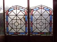 Damaged Stained Glass Windows